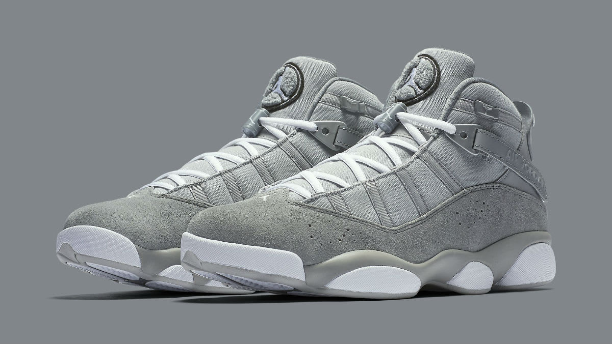 Jordan 6 Rings 2017 Cool Grey Release Date Main 322992-014