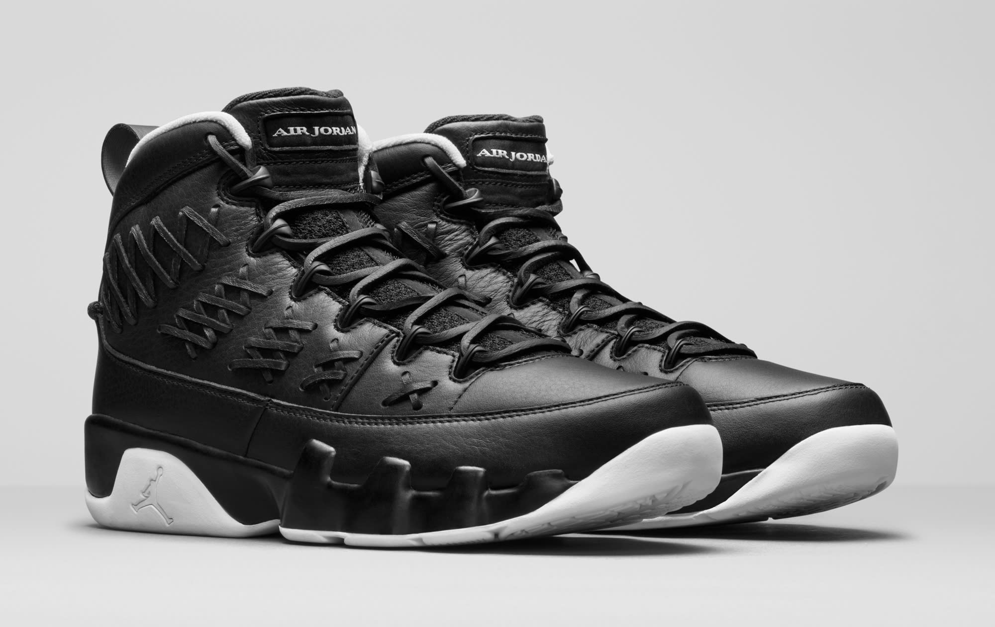 Baseball Air Jordan 9 Black