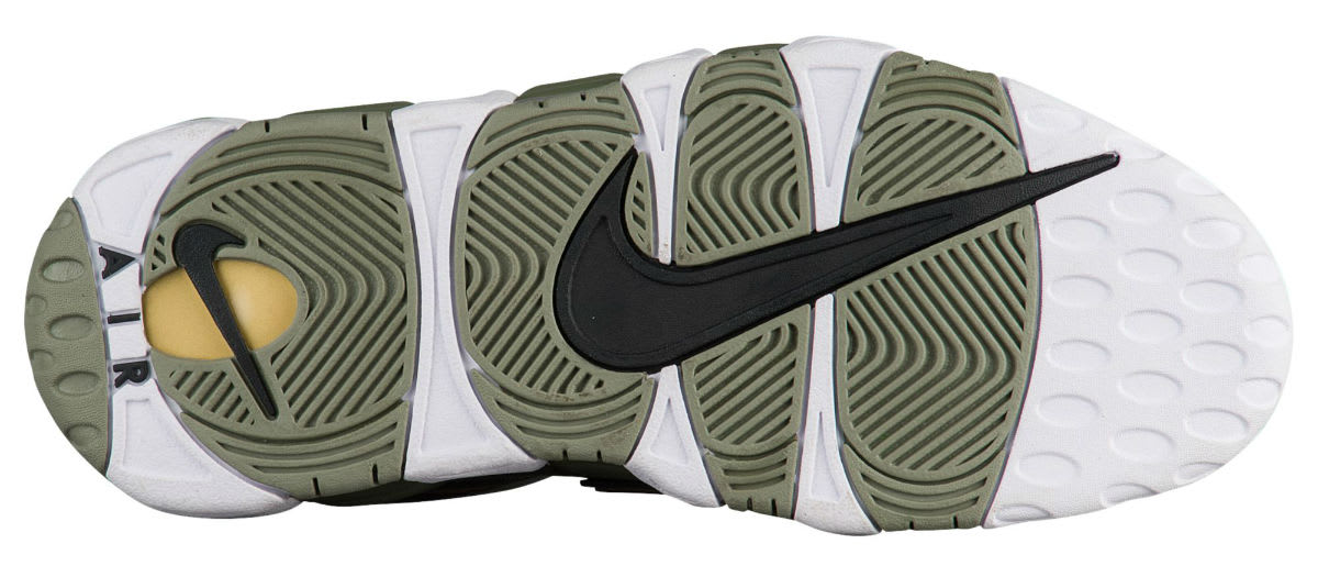 Nike Air More Uptempo Women's Dark Stucco Release Date Sole 917593-001