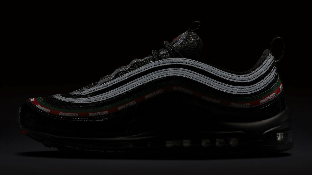 Undefeated x Nike Air Max 97 Black Release Date 3M AJ1986-001