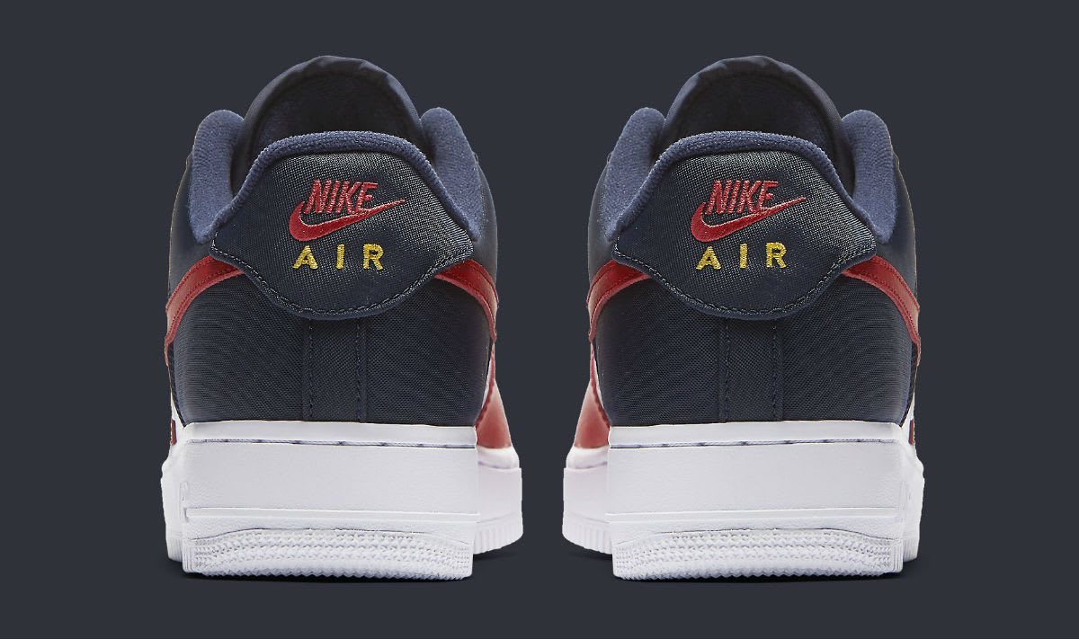 950c3d7bd0dd3 ... netherlands nike air force 1 low mini swoosh usa release date heel 823511  601 c94e9 90b5d