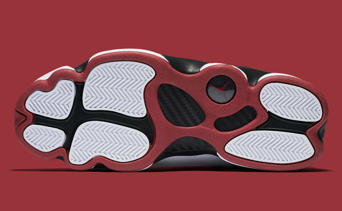 Jordan 6 Rings 2017 White Black Red Release Date Sole 322992-012