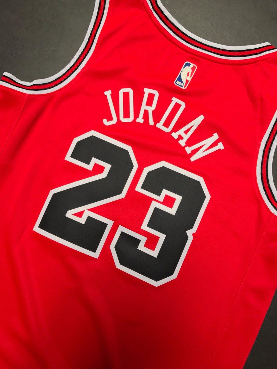 Nike Michael Jordan Bulls Jersey (Back)