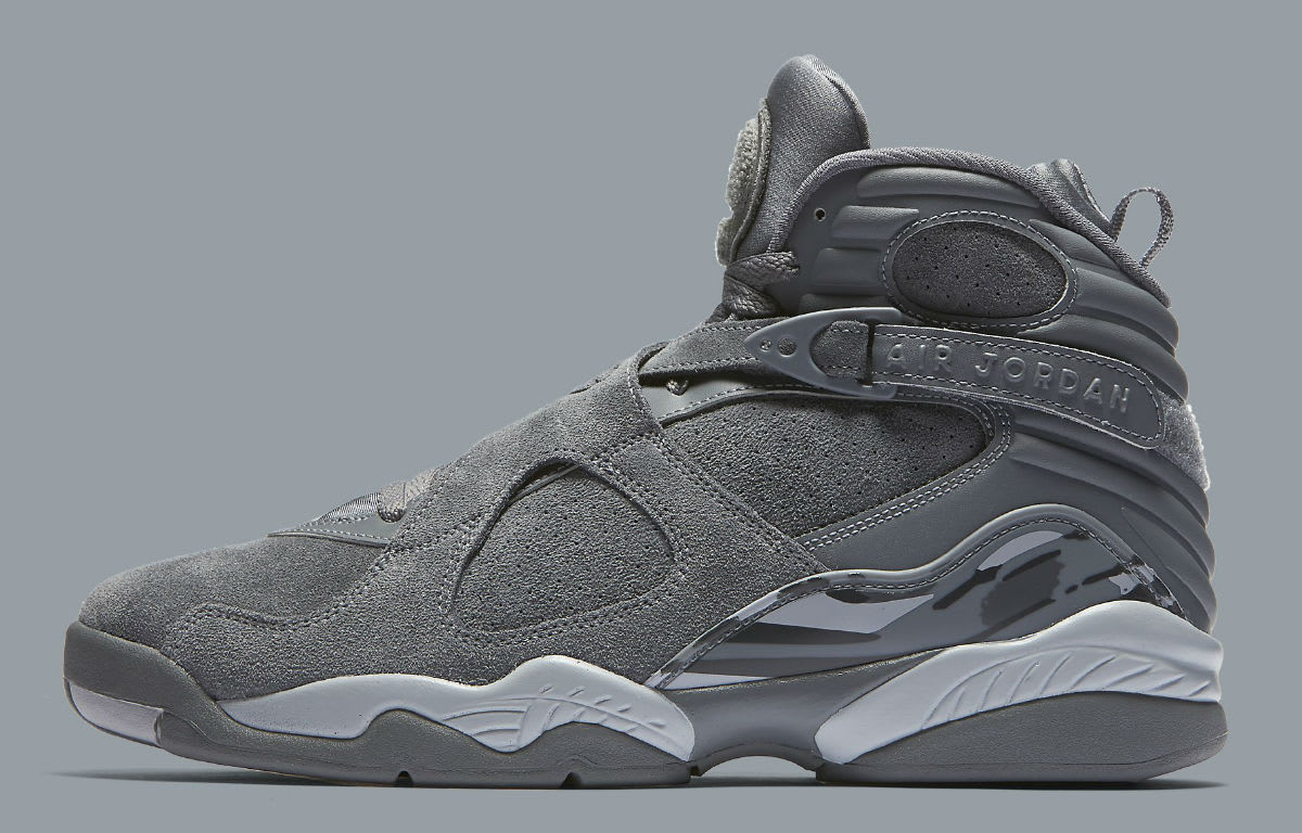 Air Jordan 8 VIII Cool Grey Release Date Profile 305381-014