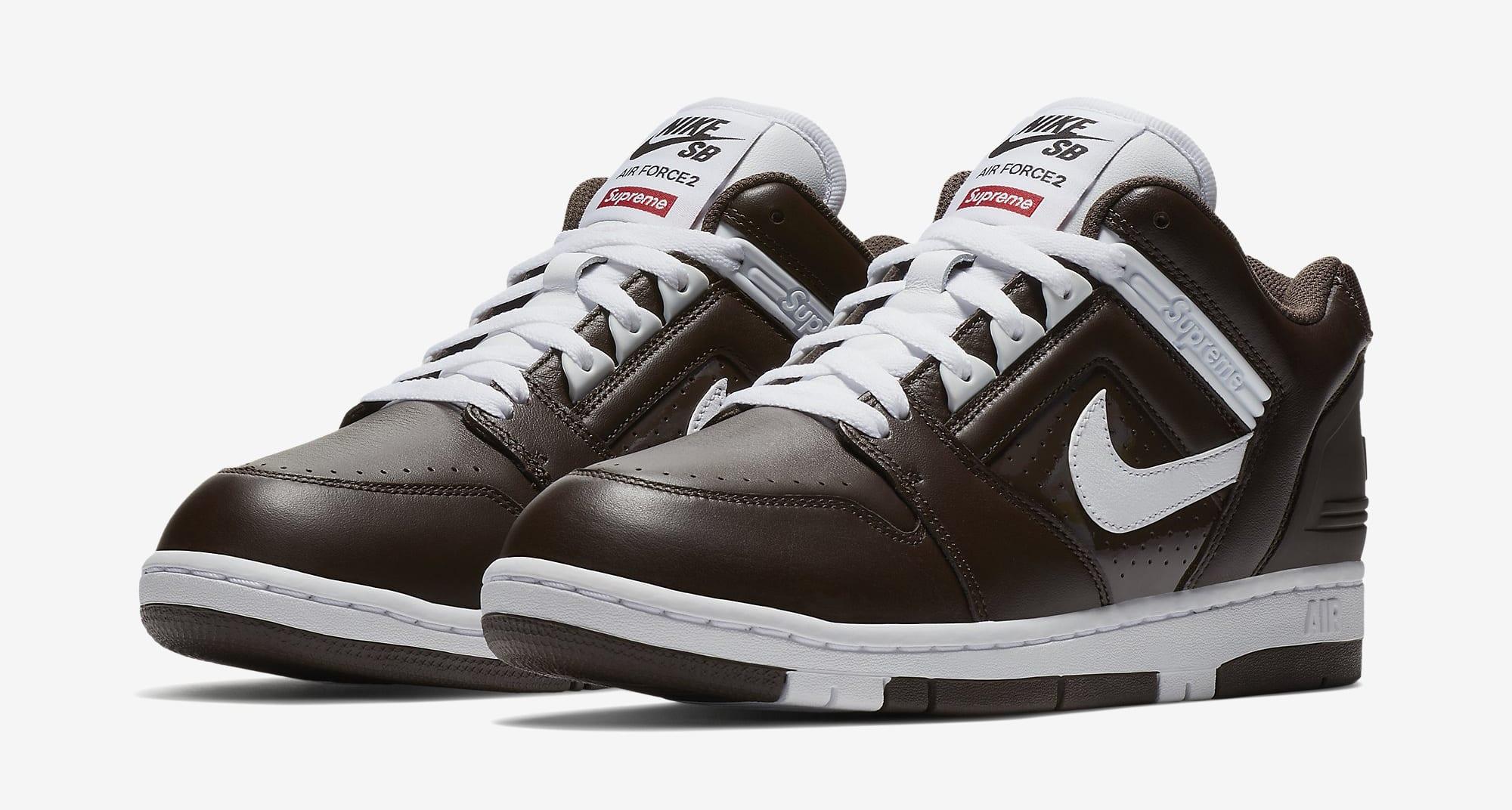 Supreme Nike SB Air Force 2 AA0871-212 Black