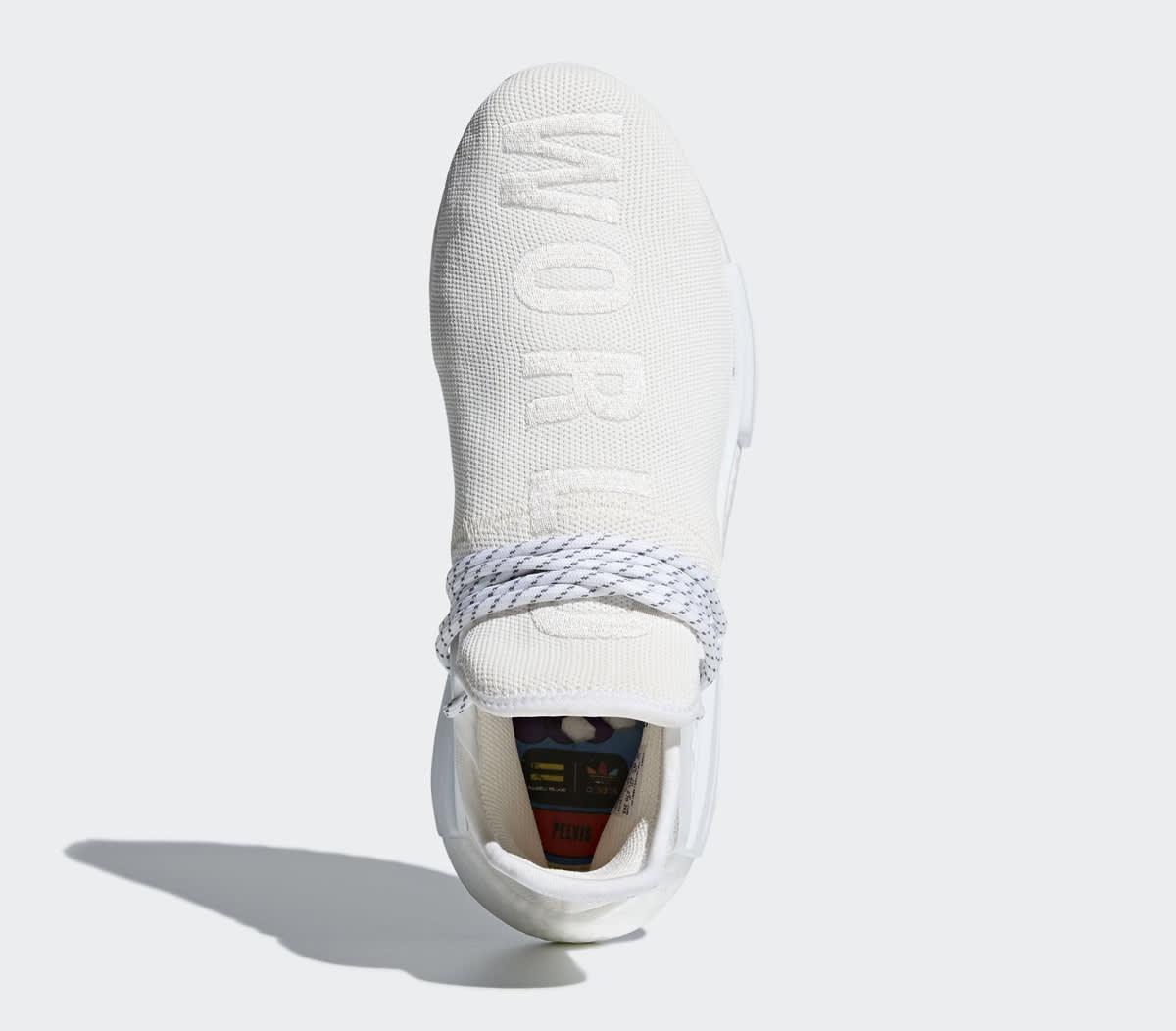 Pharrell Adidas NMD Hu Trail Blank Canvas AC7031 White Top