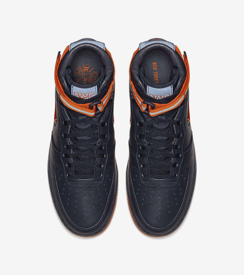 Nike Air Force 1 High 'NYC's Finest' AO1636-400 (Top)