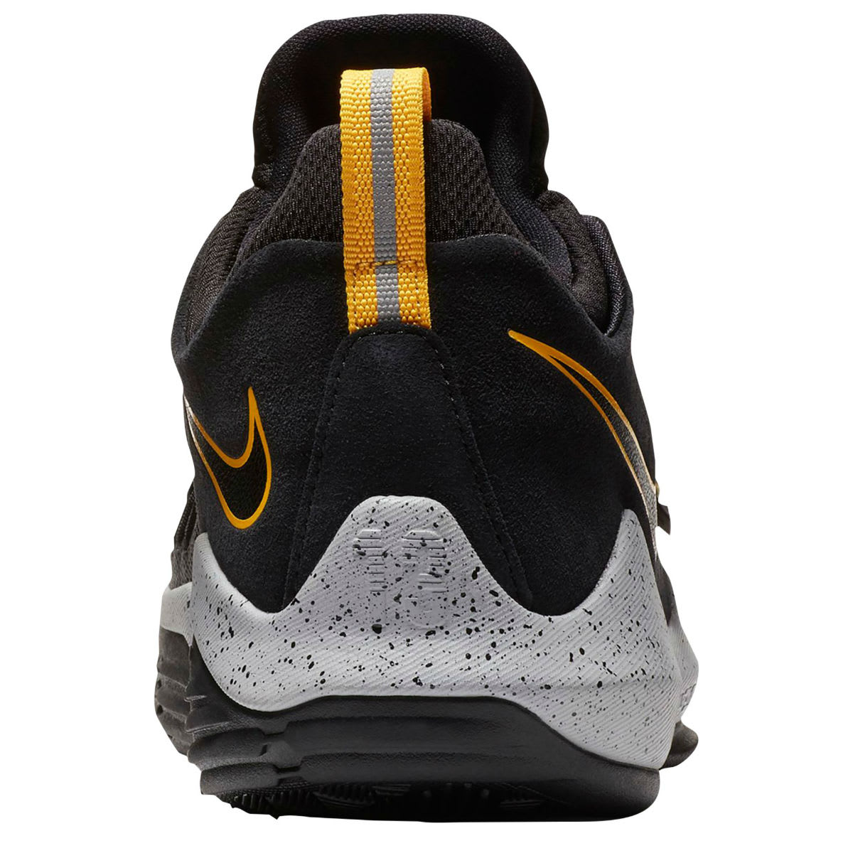 cheap for discount 15a12 c3e36 ... best Nike PG1 Black University Gold Wolf Grey Release Date 878627-006  Heel ...