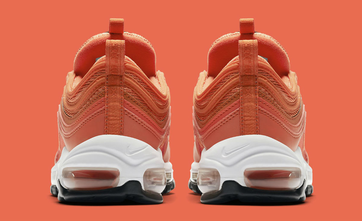 Nike Air Max 97 Safety Orange Release Date 921733-800 Heel