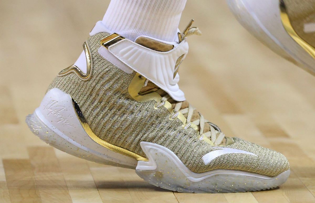 Anta KT3 Gold Blooded Release Date Close