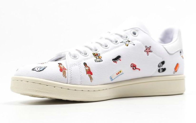 Adidas Stan Smith Summer Canvas Release Date Medial BZ0392