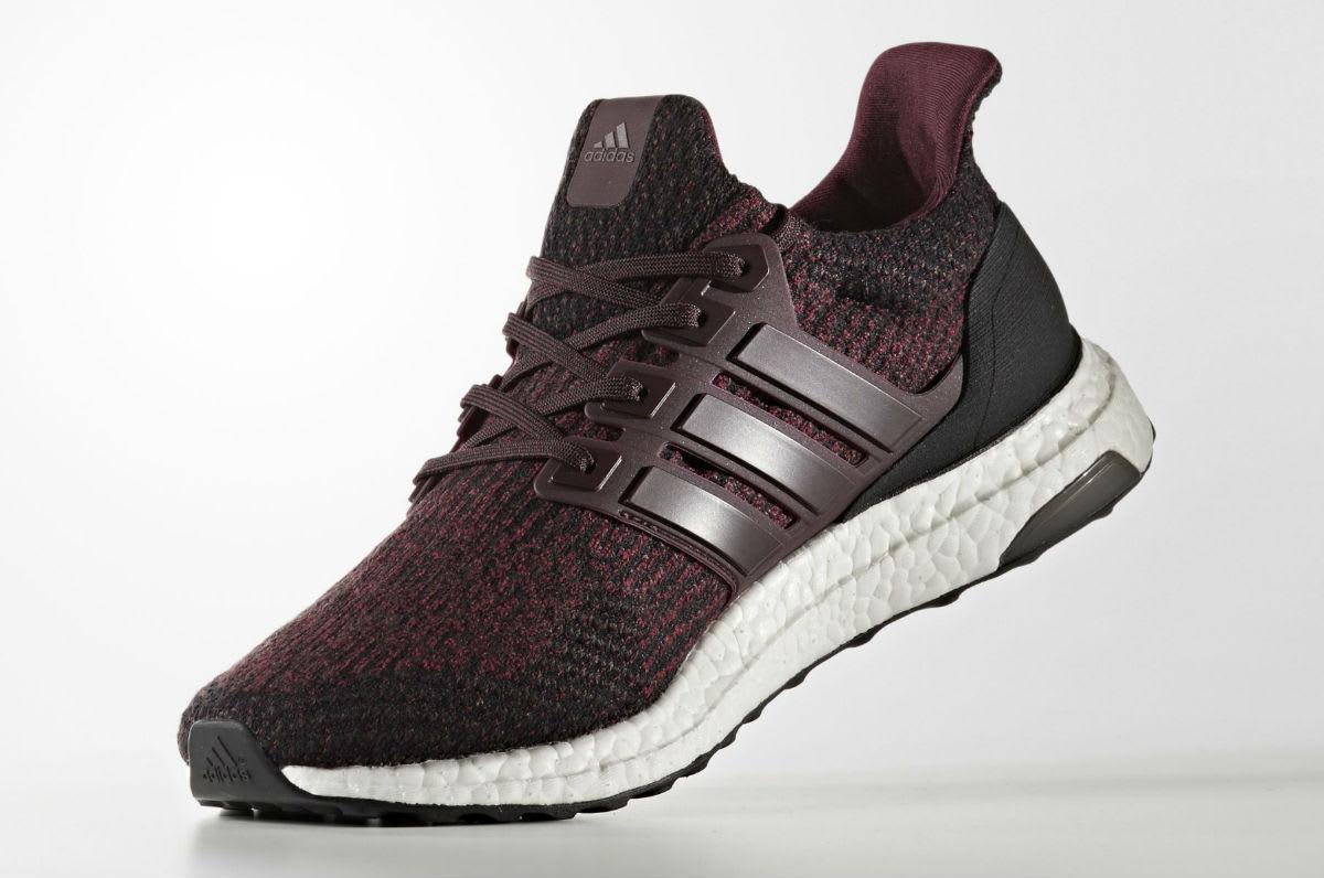 4dd0baf76670b ... Mens Womens Running Shoes Adidas Ultra Boost 3.0 Dark Burgundy Release  Date Medial S80732 ...