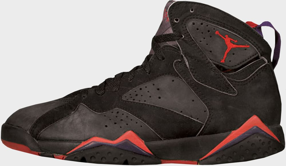Air Jordan 7 Black Red