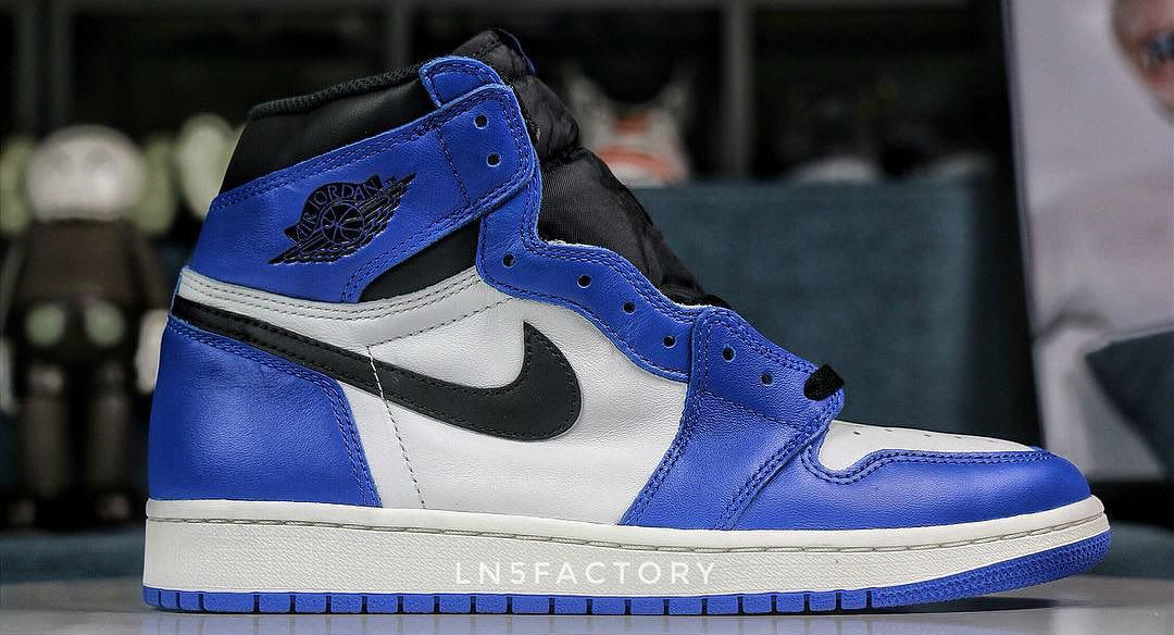 Air Jordan 1 I Game Royal 2018 Release Date 555088-403 Profile