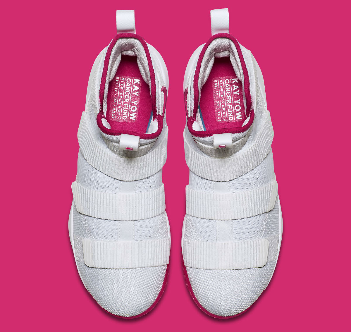 e84902781bf Style Code 897645 Nike LeBron Soldier 11 Kay Yow Breast Cancer Awareness  Release Date Top 897645-102 ...