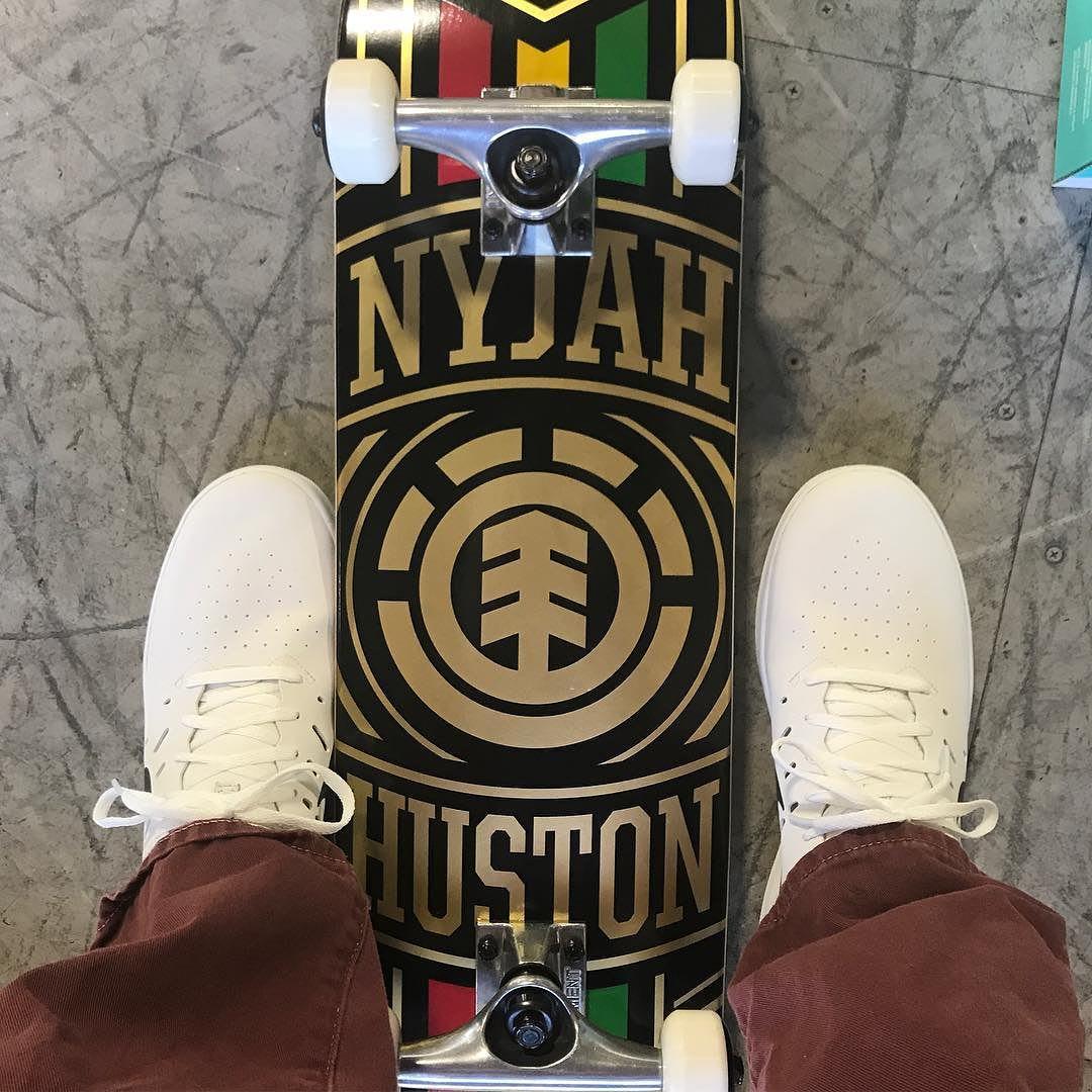 Nyjah Huston Nike SB Free Signature Shoe Top