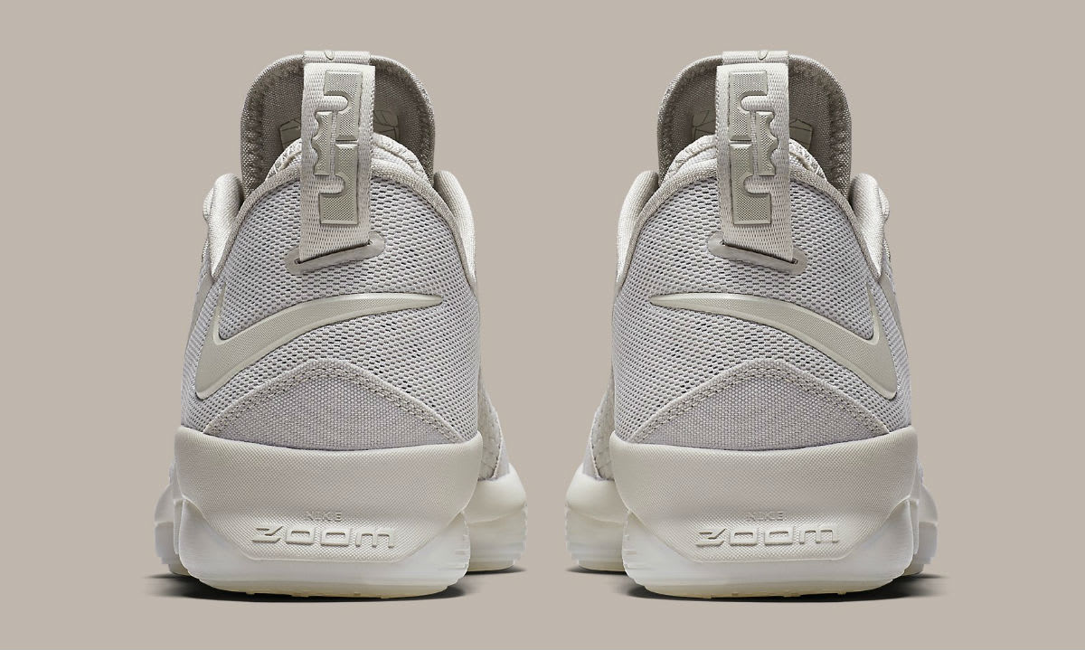 Nike LeBron 14 Low Tan Release Date Heel 878635-004