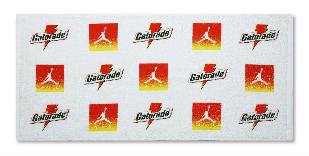 Air Jordan 1 Gatorade Cyber Yellow Lime Release Date AJ5997-345 Towel