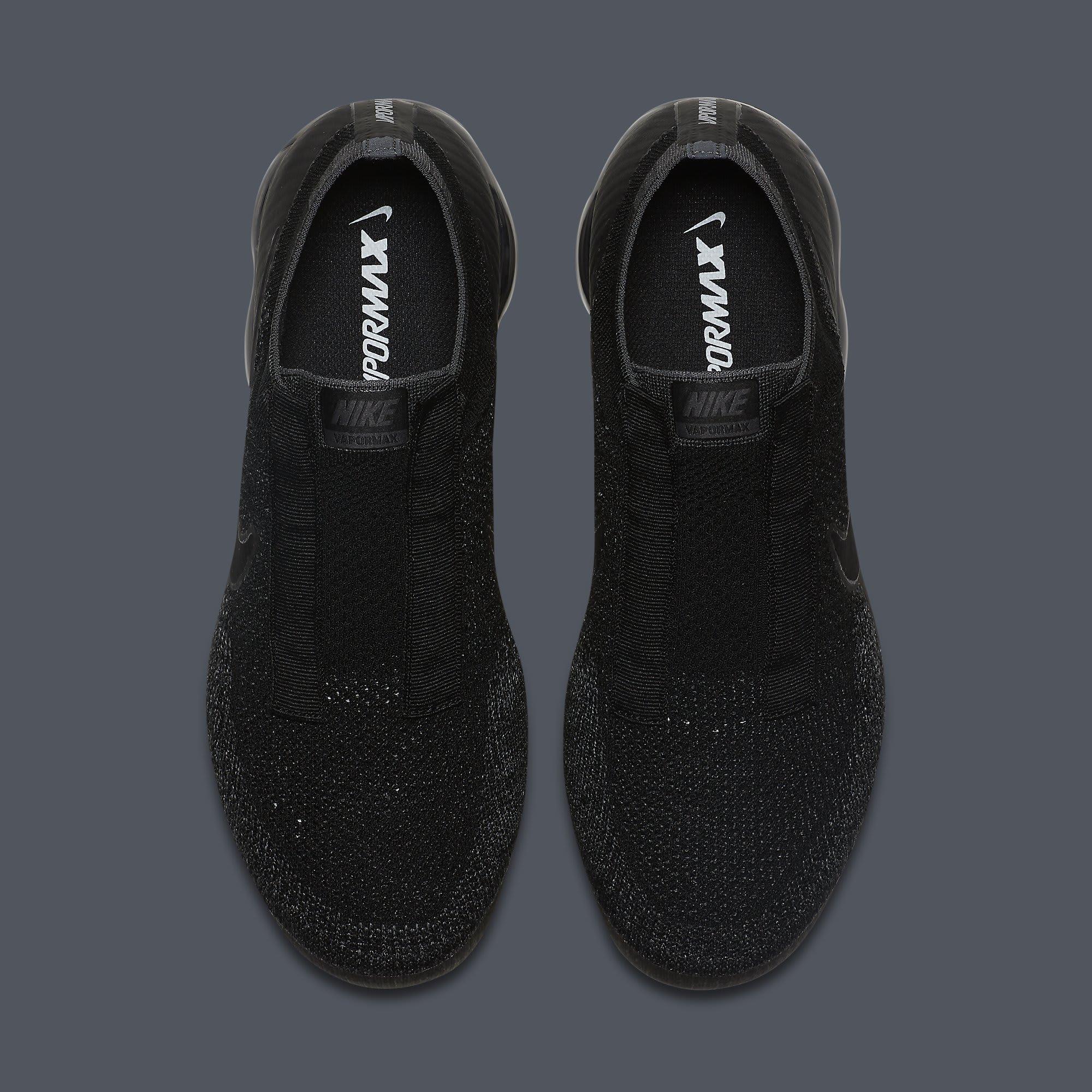 Nike Air VaporMax Laceless Black Release Date Top AQ0581-001