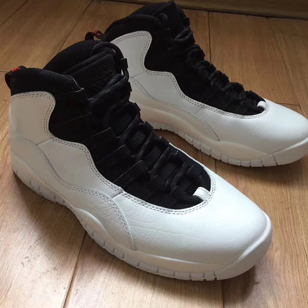 Air Jordan 10 X I'm Back 2018 Release Date Front