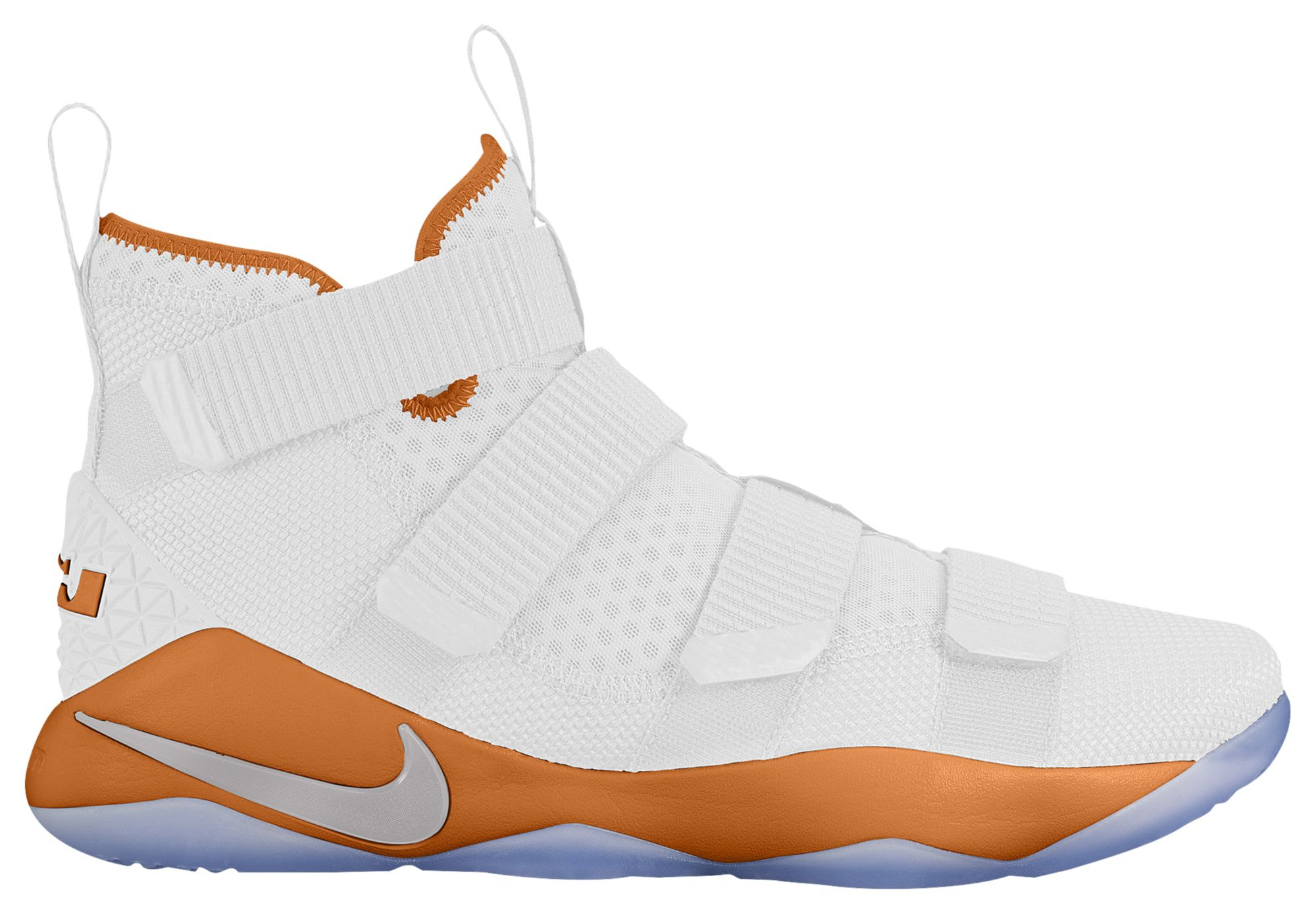 Nike LeBron Soldier 11 TB White Dark Orange