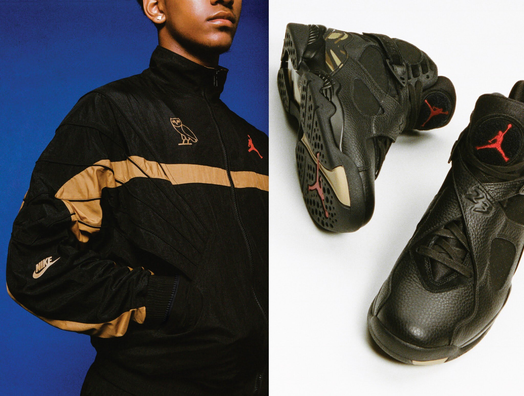 OVO x Air Jordan 8 Black Raffle
