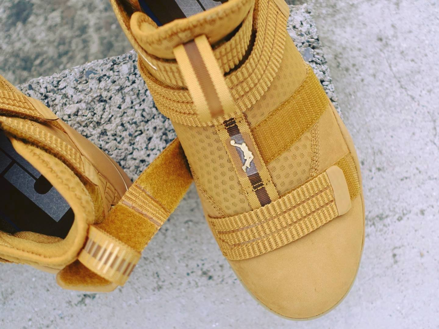 Nike LeBron Soldier 11 SFG Wheat Release Date 897647-700 (2)