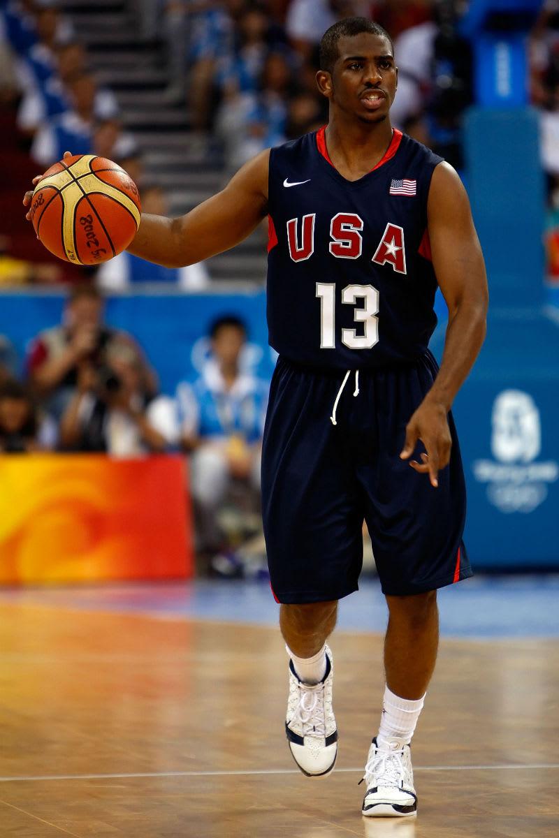 Chris Paul 2008 Olympic Gold Medal Game Air Jordan 23 PE