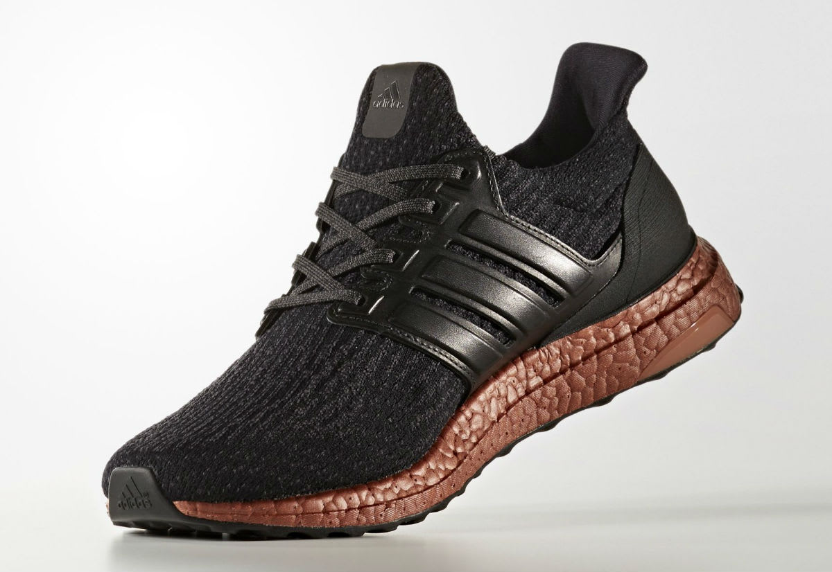 Adidas Ultra Boost 3.0 Black Bronze Sole Release Date Medial