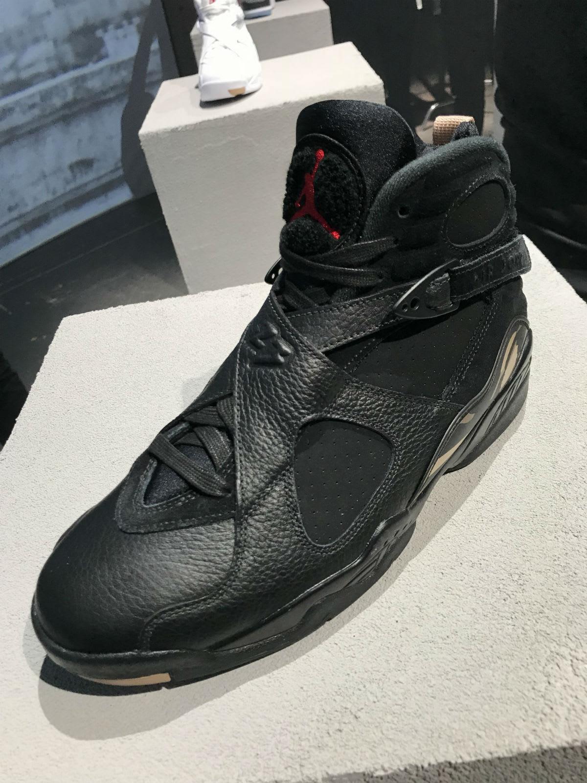 OVO Air Jordan 8 Black Release Date AA1239-045 Front