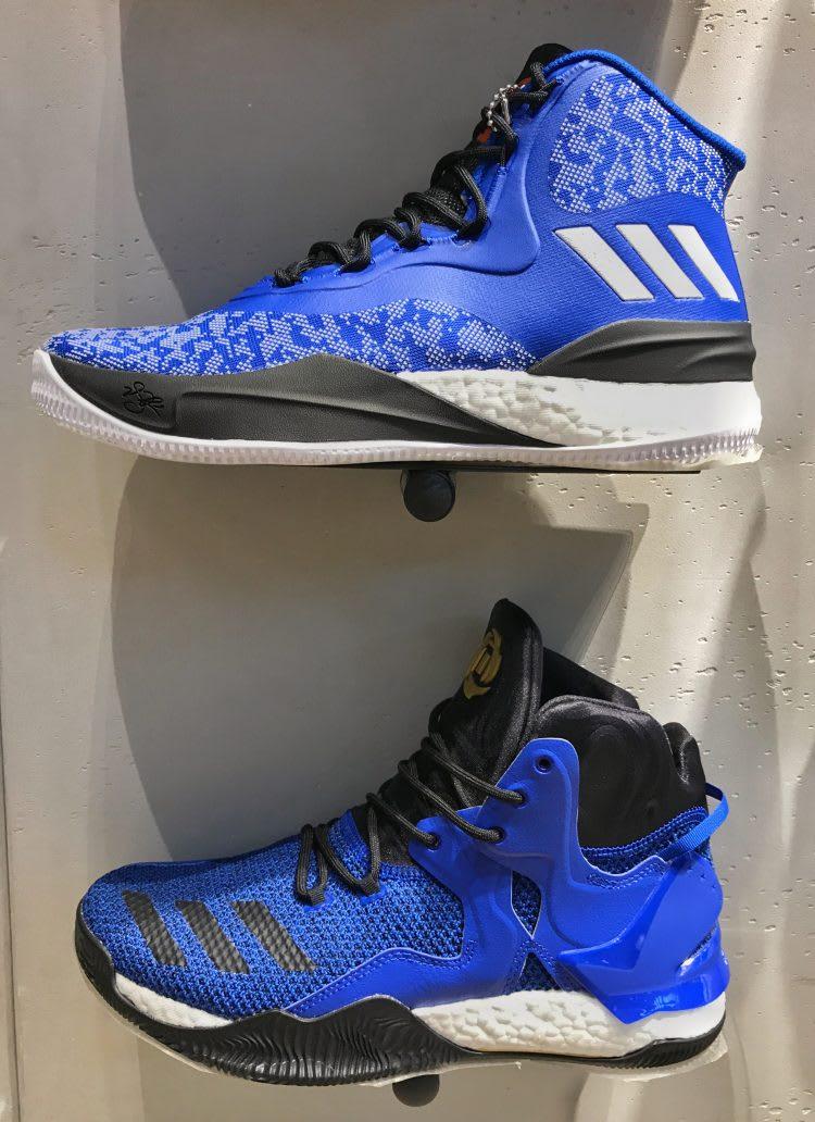 27debe5360e1 ... Official Images Of Adidas D Rose 8 Knicks (8)  online for sale adidas D  Rose 8 White Blue Black ...