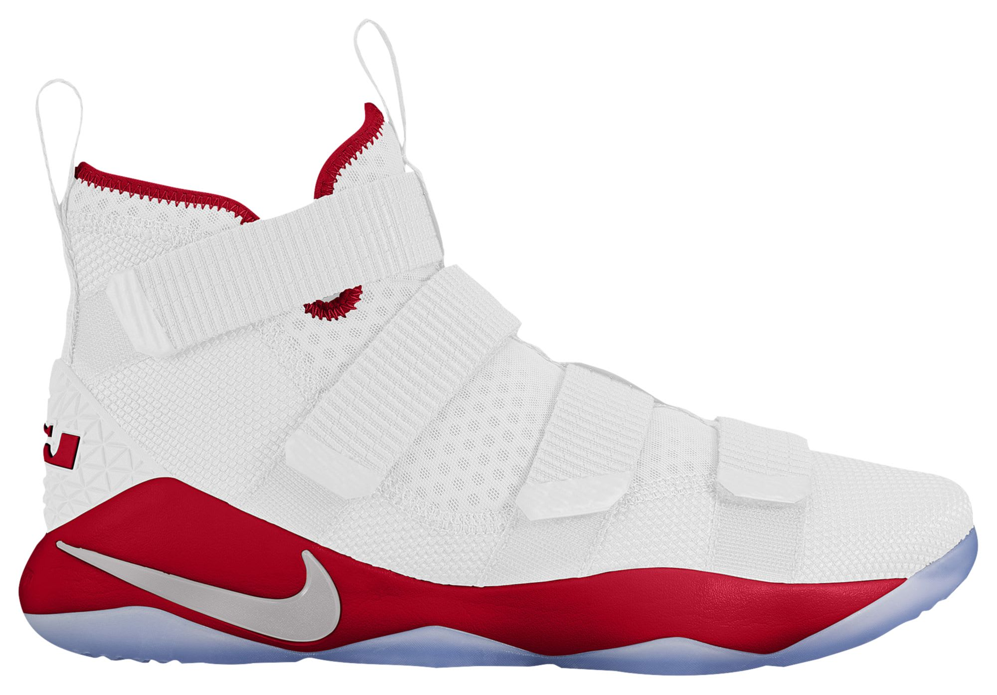 Nike LeBron Soldier 11 TB White Red