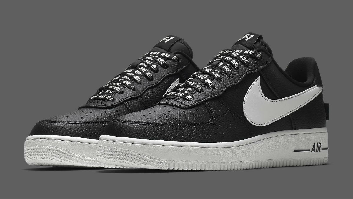 nike shoes air force black. nike air force 1 low nba statement game release date 823511-007 shoes black