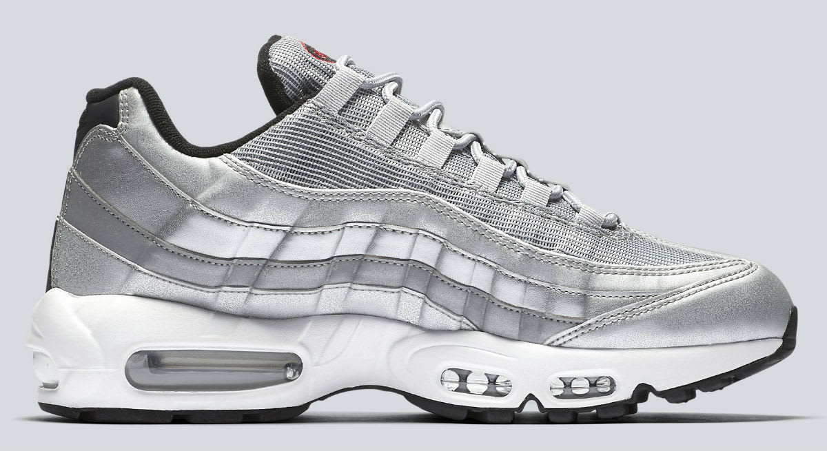 nike air max 95 silver bullet release date 918359 001. Black Bedroom Furniture Sets. Home Design Ideas