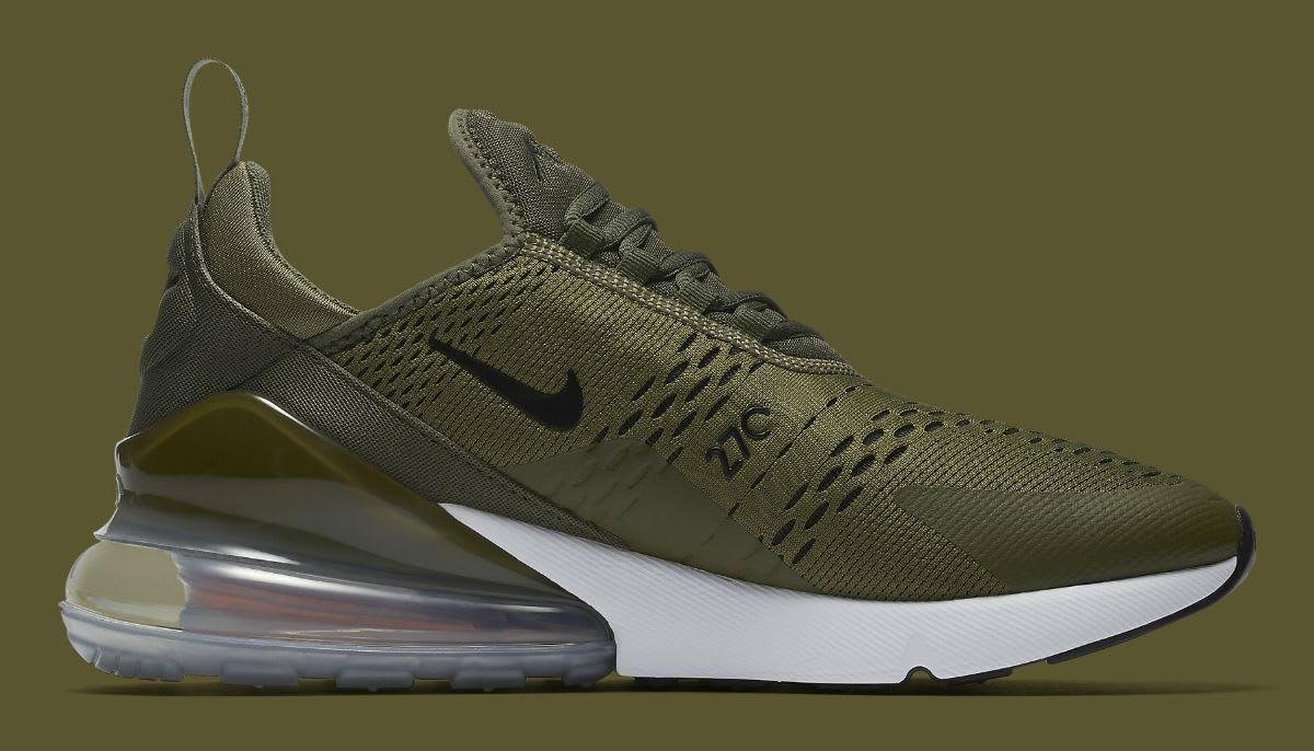 Nike Air Max 270 Olive Release Date AH8050-201 Medial