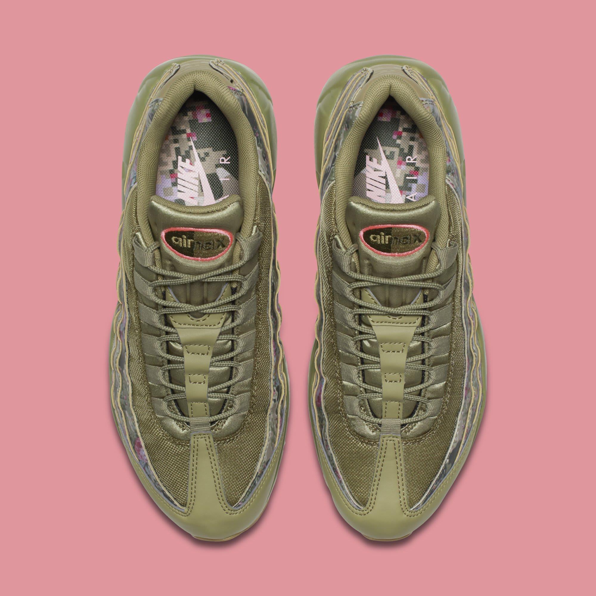 WMNS Nike Air Max 95 'Floral Camo' AQ6385-200 (Top)