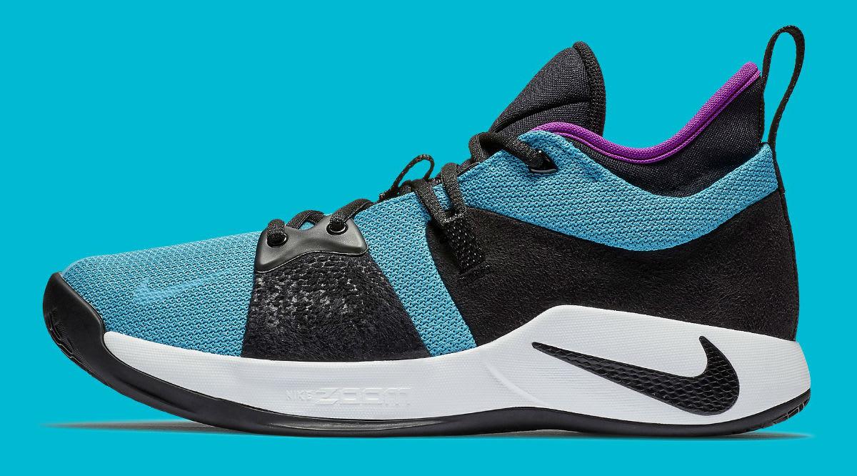 Nike PG 2 South Beach Blue Lagoon Release Date AJ2039-402 Profile