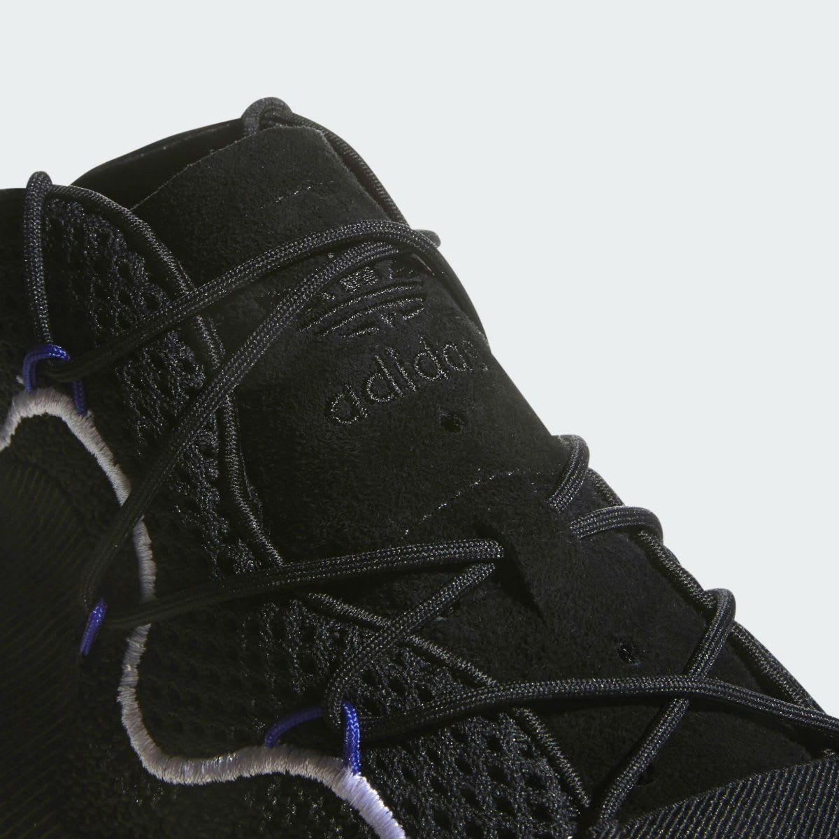 Adidas Crazy BYW LVL 1 Black White Release Date CQ0991 Tongue