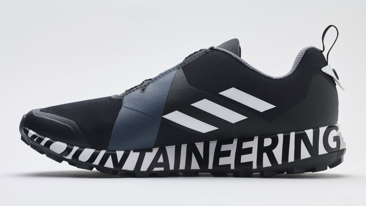 White Mountaineering x Adidas Terrex Two Boa Black BB7743 Release Date Medial