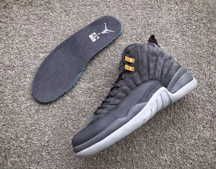 e9b1a67548b551 ... Air Jordan 12 Dark Grey 2017 Release Date 130690-005 (12) ...