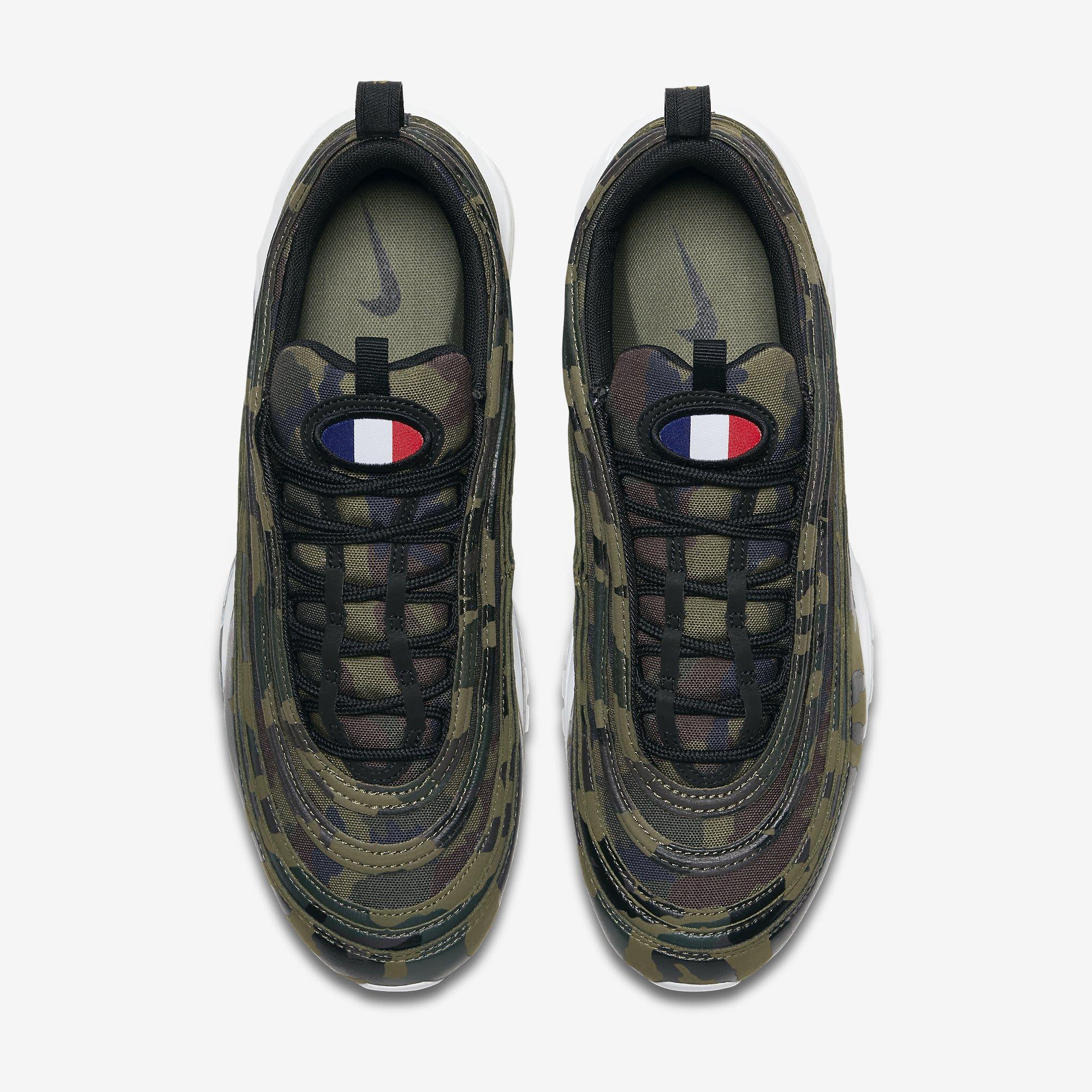 Nike Air Max 97 'Country Camo' France AJ2614-200 (Top)