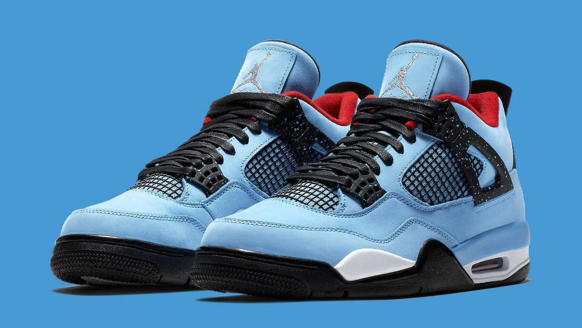 Travis Scott x Air Jordan 4 IV Oilers Release Date 308497-406 Main