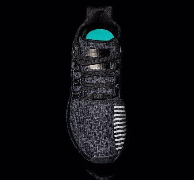 Triple Black Adidas EQT Support 93/17 Top
