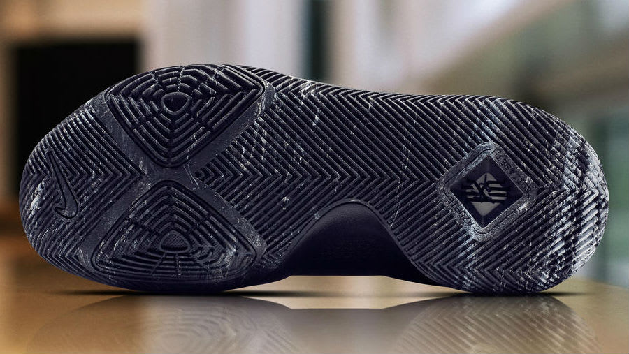 Nike Kyrie 3 Black Marble Release Date Sole 852395-005