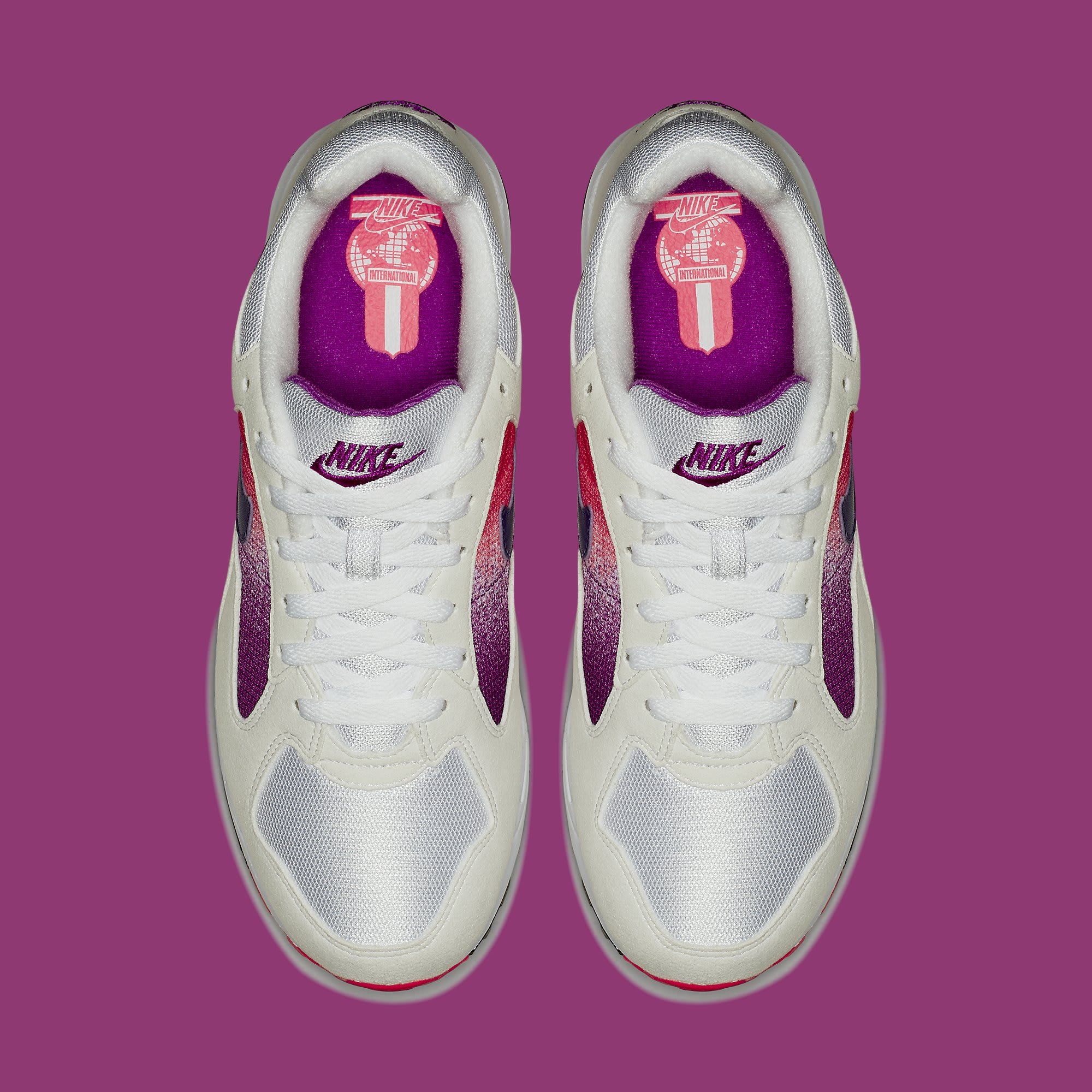 Nike Air Skylon 2 White Court Purple Solar Red Release Date AO1551-103 Top