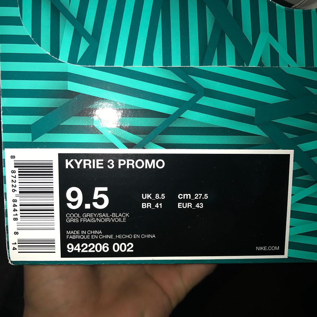 Nike Kyrie 3 Girls EYBL Release Date Box 942206-002