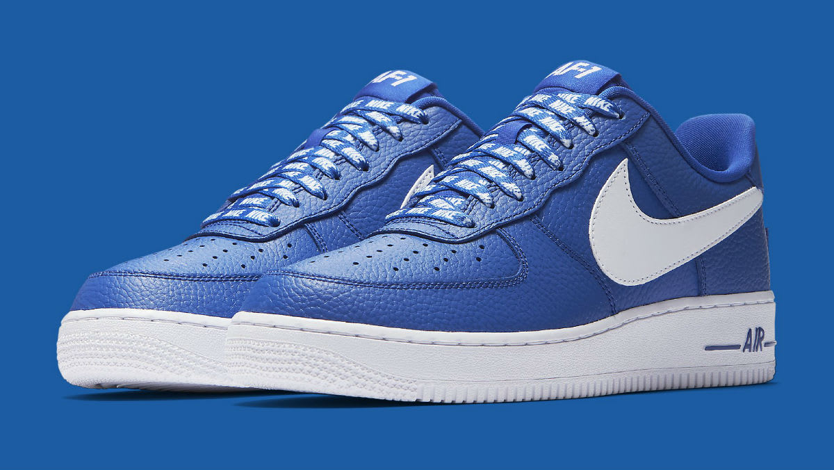 Nike Air Force 1 Low NBA Statement Game Release Date 823511-405