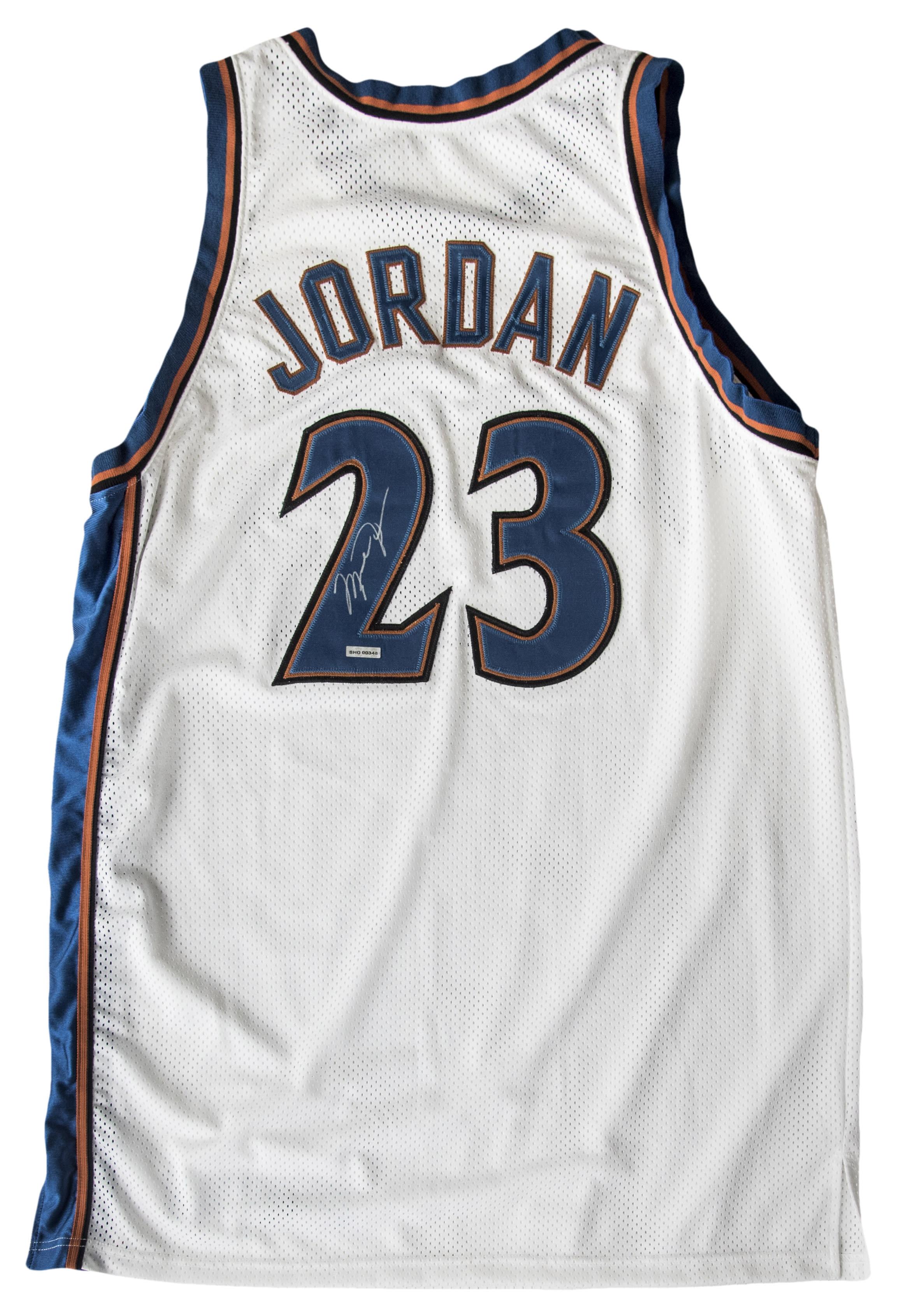 Michael Jordan Washington Wizards Jersey (Back)