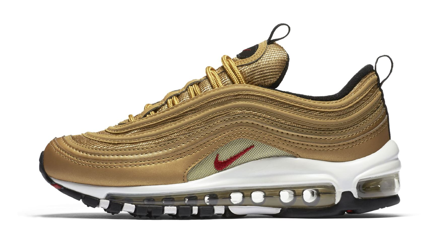 gold nike air max 97 gs 2017 retro release date sole. Black Bedroom Furniture Sets. Home Design Ideas
