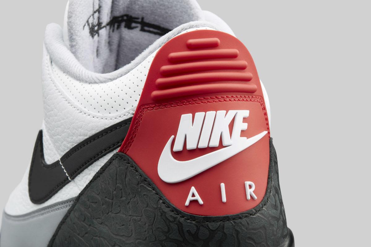 Air Jordan 3 III Tinker Release Date AQ3835-160 Heel Tab